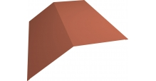 Коньки для кровли из металлочерепицы в Иваново Планка конька 190х190
